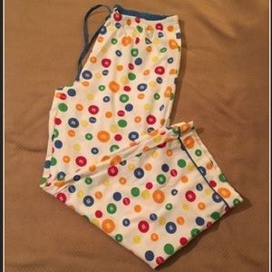 M&M's Women's Cotton Sleep Pants + Shoelaces